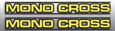 YAMAHA MONO-CROSS SWINGARM DECAL GRAPHIC YELLOW LINED STANDARD VERSION