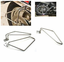 Detachable Motorcycle Saddlebags Saddlebag Brackets for Harley Dyna Models New