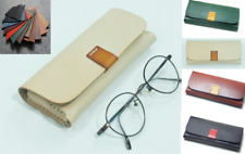 sunglasses bag Eyeglass Cases spectacles glasses cow Leather Customize A824