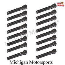 Ls1 Rocker Arms Bolts - set of 16 - Ls2 Ls6 Lq4 Lq9 Ly5 Ly6 6.0 5.7 5.3 4.8