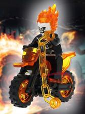 Ghost Rider Johnny Blaze Spirit of Vengeance Marvel DC Comics lego MOC