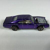 Vintage Hot Wheels Redline 1968 Custom Dodge Charger (AS IS for restoration)