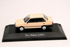 1:43 Altaya Scale Fiat Premio 1987 Diecast Models Limited Edition Car Collection