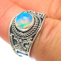 Ethiopian Opal 925 Sterling Silver Ring Size 7 Ana Co Jewelry R48141F