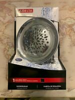 """75172 Delta Bell Chrome 6"""" Shower Head 1-Full Body Spray with Adjustable Arm"""