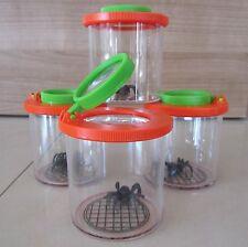 Lupe Becherlupe Lupenbecher Insektenglas Lupendose Maxi 8 Stück  150006-8
