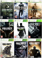 Call of Duty COD 3 World at War Modern Warfare MW2 WAW Black Ops Bundle Xbox 360
