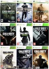 Llamado del Deber COD 3 World at War Guerra Moderna MW2 Waw Negro Ops Paquete Xbox 360
