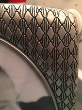 """Vtg Silver-tone Metal 8""""x10"""" Picture Frame"""