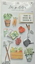 """LA PETITES NEW RELEASE!  """"HOME IS WHERE MY GARDEN IS""""    3D STICKERS"""