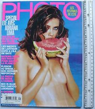 ADRIANA LIMA July/Aug 2005 FRENCH PHOTO Magazine NEW!