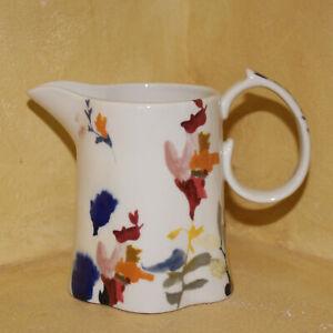 Anthropologie Wildflower Study Creamer Jen Garrido Small Vase New