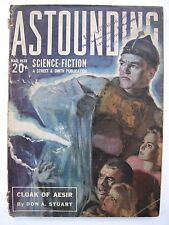 US Pulp Magazine - ASTOUNDING SCIENCE-FICTION Mar 1939 - Clifford D. Simak