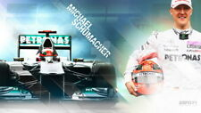 "040 Michael Schumacher - Mercedes Germany F1 Racing Driver 24""x14"" Poster"