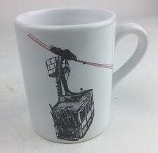 ANGEL DES MONTAGNES  SKI Gondola Glazed Ceramic  Mug Used