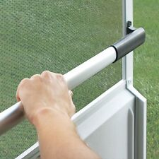 RV Screen Door Cross Bar Adjustable Grab Handle Trailer Camper Exit Push Support