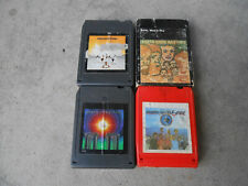 EARTH, WIND & FIRE-FOUR 8 TRACK TAPES-I AM-SPIRIT-OPEN OUR EYES-S/T-VG+ TO VG++