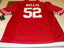 2012 NFL Men's Game Jersey San Francisco 49ers Patrick Willis L Football