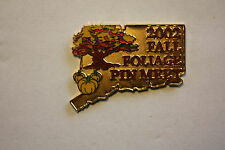 TREE & PUMPKINS 2002 FALL FOLIAGE PIN MEET TRADE EVENT RARE LE 150 DISNEY