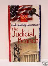 UNDERSTANDING GOVERNMENT,  THE JUDICIAL BRANCH,  RARE VHS