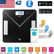 Smart Digital LED Display Body Fat Weight Scale Bluetooth APP Health Monitor 400