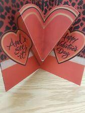 Hallmark Mahogany Valentine I know Sexy When I See Pop up heart  24/7 Card