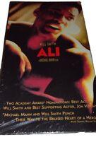 Ali vhs tape 2002 will smith jamie foxx jon voight mario van peebles new sealed