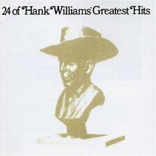 Hank Williams 24 of Hank Williams' greatest hits (1976, US) [CD]