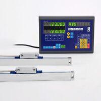 2 Achsen Digitale Digitalanzeige DRO Linearen Skala&Linear Mill & Lathe