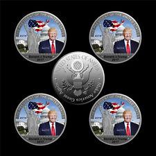 5 Stk. Donald Trump 45.Präsident USA Silber Silberne Münze Medaille Silberbarren