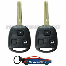 2 Replacement for 2001-2005 Lexus IS300 Key Fob Keyless Entry Car Remote