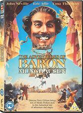 THE ADVENTURES OF BARON MUNCHAUSEN - DVD - REGION 2 UK