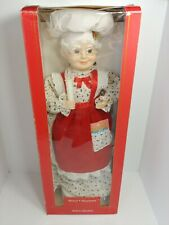 Vintage Animated Figure Christmas On Mainstreet Musical With Candle Light in Box