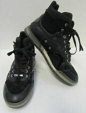 f683332dd4eb DIOR HOMME Men s Black Suede and Leather Cushioned High Top Sneakers Size 43