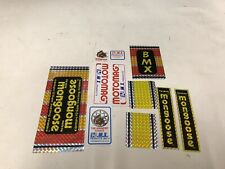 Mongoose Bmx Stickers