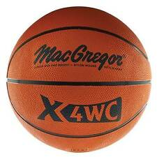 "MacGregor® X4WC Junior Size (27.5"") Rubber Basketball"