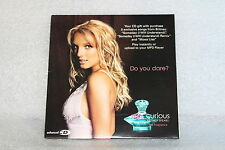 Rare 2005 BRITNEY SPEARS Curious 3 Song Promo CD, Someday, Mona Lisa *SALE*