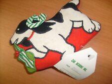 Cloth Ornament- Beagle ? Dog marked Zak Designs , Xmas / l4