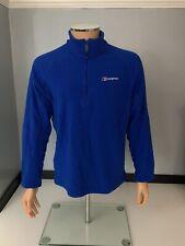 Berghaus Mens Fleece Jacket, Size Large, L, Blue, Immaculate