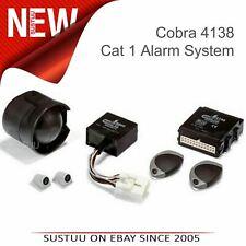COBRA A4138 Thatcham Cat 1 Vehicle Car Remote Alarm System + Anti Hi-Jack Panic