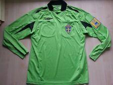 SCHWEDEN Sverige UMBRO Schiedsrichter-Referee-Trikot-Shirt-Jersey M SvenskaSpel