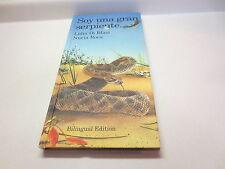Soy Una Gran Serpiente Lidia Di Blasi Nuria Roca Bilingual Edition vintage hb