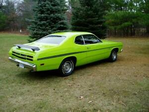 Side & Tail Stripes stripe kit for 1970 Plymouth Duster