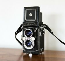 Yashica-D Medium Format TLR Yashinon 80mm f3.5 For Repair - Jammed Shutter Dial
