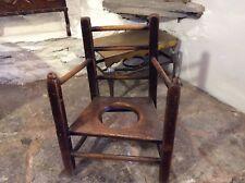 Niño victoriano la silla con orinal Silla De Niños Silla De Peluche