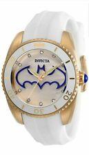 Invicta DC Comics Women's 38mm Batman Limited Edition White Band Watch RRP595.00
