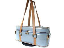 LOUIS VUITTON Sullivan Horizont GM Patent Leather Blue Shoulder Bag