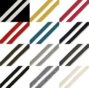 (1,-€/m) 2,5 Meter Flachkordel Hoodieband Schnur Kordel - 10 mm - viele Farben