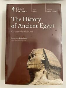 SEALED History of Ancient Egypt The Great Courses Series Dvd Set Guidebook Book