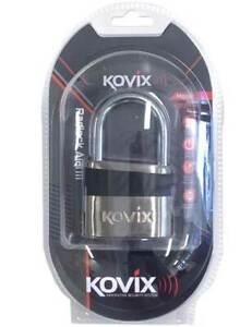 Kovix Alarmed Padlock 8.5mm - Ultimate security - Camping, Bikes, Fridges